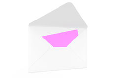 Email Concept. Detailed envelope Royalty Free Stock Photos