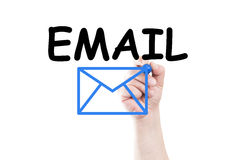 Email contact Royalty Free Stock Images