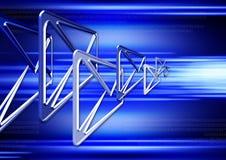 EMail in Cyberspace 4 Lizenzfreie Stockfotos