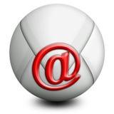 Email del mondo Immagine Stock