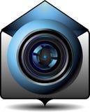Email del video dell'icona Fotografia Stock Libera da Diritti
