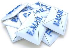 Email delle lettere Fotografie Stock Libere da Diritti