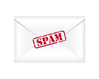 Email dello Spam Fotografie Stock