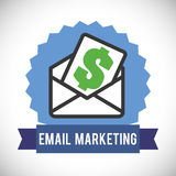 Email design Royalty Free Stock Images