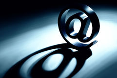 Email dit Image stock