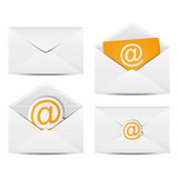 Email envelopes Royalty Free Stock Image