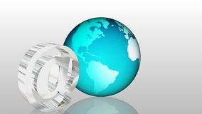 Email Global Communication 2 stock footage