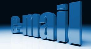EMail-Hintergrund Stockbild