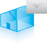 Email Home Royalty Free Stock Images