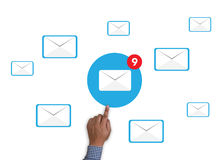 Email icon Concept Royalty Free Stock Photography