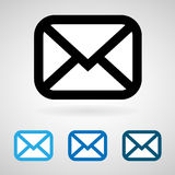 Email icon great for any use. Vector EPS10. royalty free illustration