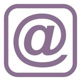 Email icon Royalty Free Stock Image