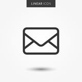 Email icon vector illustration Royalty Free Stock Image