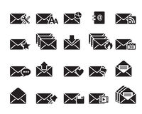 Email Icons Vector Royalty Free Stock Photo