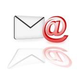 EMail-Ikone Lizenzfreies Stockfoto