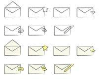 email ikony Obrazy Royalty Free