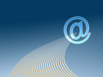 Email illustration Royalty Free Stock Photography