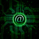 Email illustration Royalty Free Stock Photo