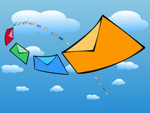 EMail Inbox Lizenzfreies Stockbild