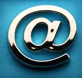 Email international sign Stock Photos