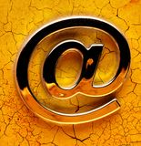 Email international sign Stock Photo