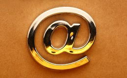 Email international sign Stock Photography