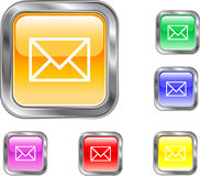Email Internet Button. This is an Email web or internet button Royalty Free Stock Photo