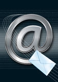 Email / internet concept. Email symbol with envelope, email concept Royalty Free Stock Photography