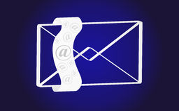 Email internet icon Stock Photos