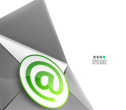 Email internet vector background Stock Photo