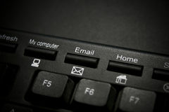 Email Key Royalty Free Stock Image