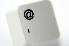 Email Key Royalty Free Stock Images