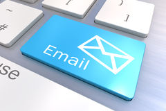 Email Keyboard Concept Royalty Free Stock Images