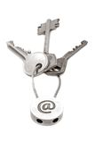 Email keys 2 Royalty Free Stock Photography