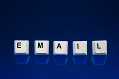 Email keys Royalty Free Stock Photos