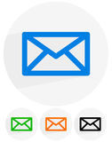 Email, letter, envelope symbols. communication, contact, support Royalty Free Stock Photos