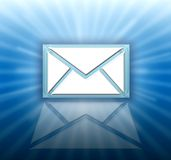 Email letter icon royalty free stock photo