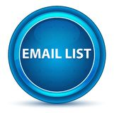 Email List Eyeball Blue Round Button royalty free illustration
