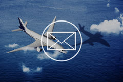 Email Mail Messaging Online Internet Concept Royalty Free Stock Photography