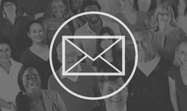 Email Mail Messaging Online Internet Concept Royalty Free Stock Photo