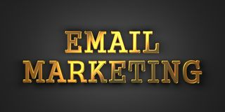 Email Marketing. Business Concept. Stock Photo