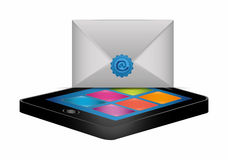 Email marketing design. Stock Photography