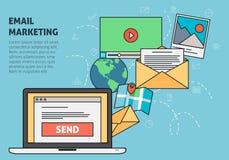 Email marketing Royalty Free Stock Photos
