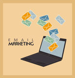 Email marketing Royalty Free Stock Photo