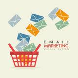 Email marketing Royalty Free Stock Photos