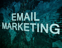 Email Marketing Royalty Free Stock Images