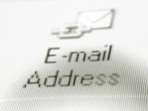 Email me fotografia stock