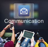 Email Message Data Digital Electronic Graphic Concept Stock Image