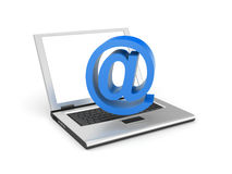 Email metaphor Royalty Free Stock Photos