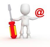 email naprawa ilustracja wektor